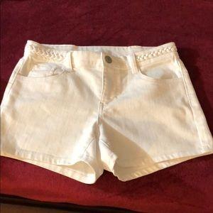 White shorts by New York & Company